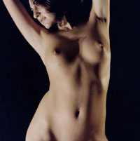 Apologise, beautiful nude female body art something
